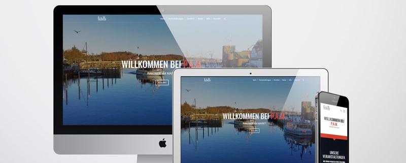 P.A.M. - PARTNER AM MARKT - Neue Webseite